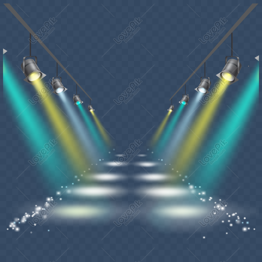 spotlight vector png