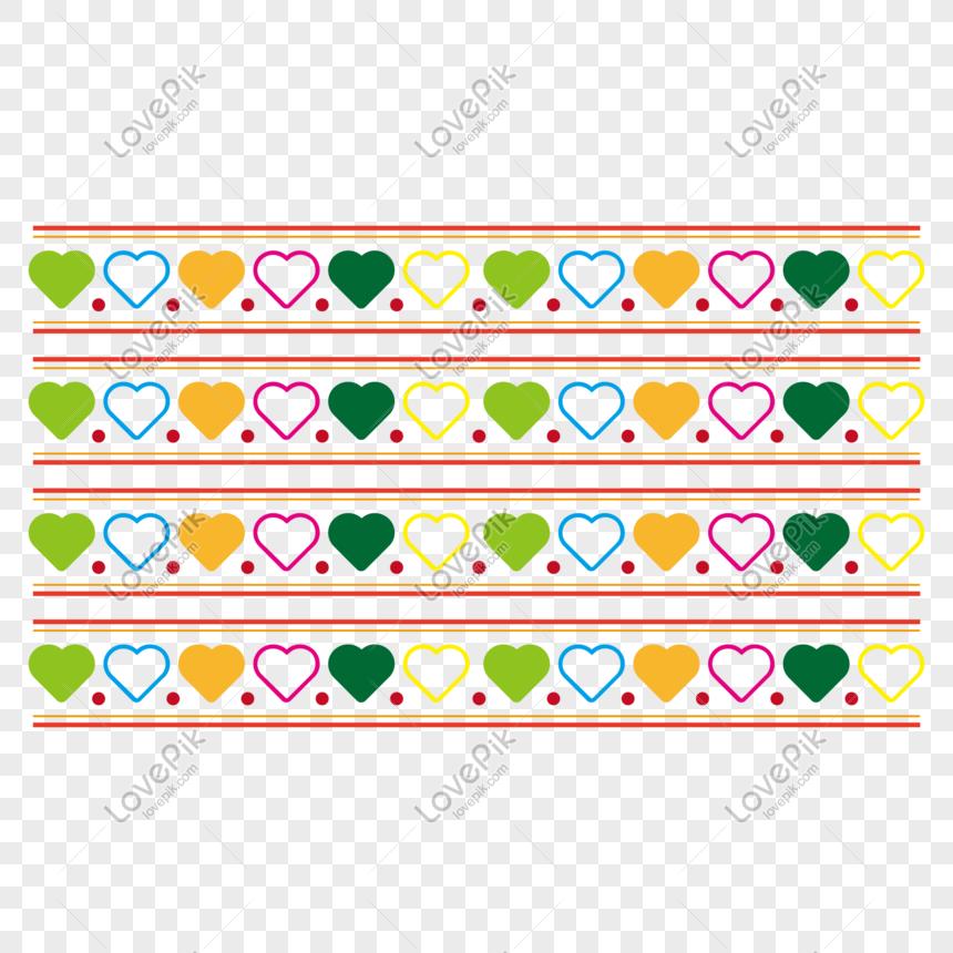 Biên Giới Tình Yêu đầy Màu Sắc Hình ảnh định Dạng Hình ảnh