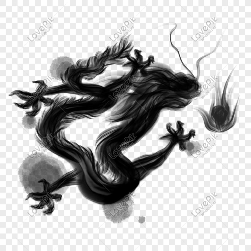 chinese fengshui ink dragon png image picture free download 401073843 lovepik com chinese fengshui ink dragon png
