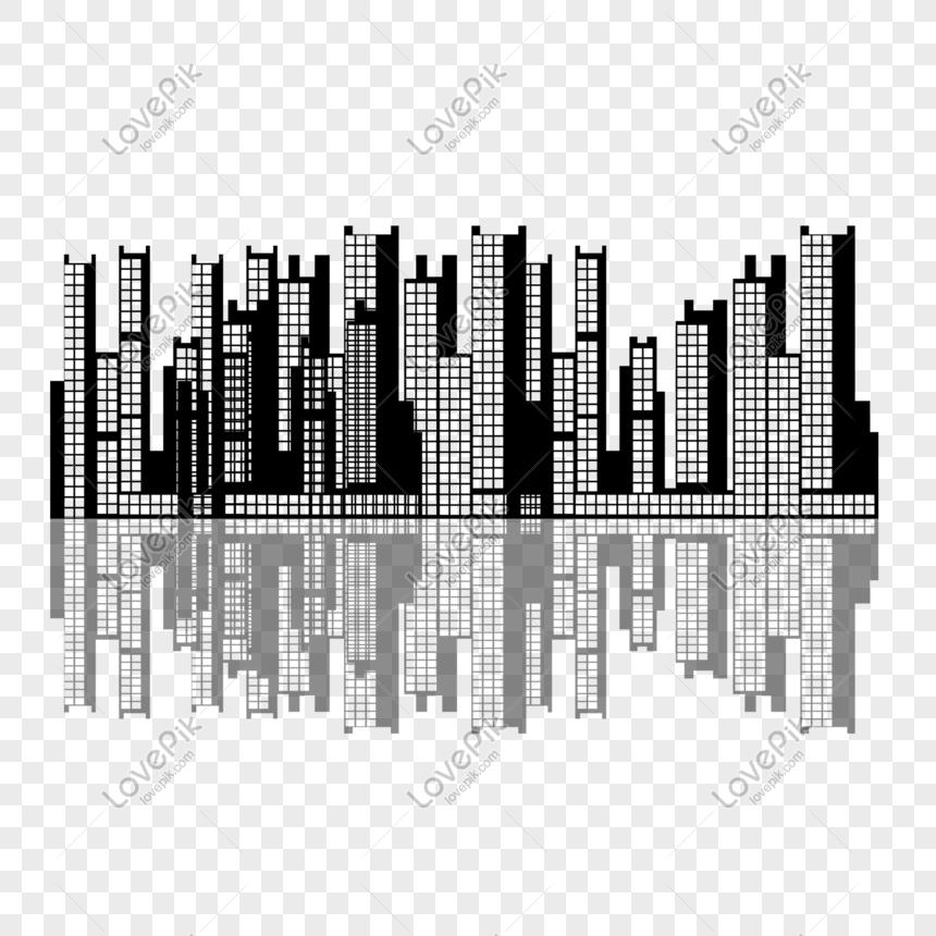 Silueta De La Ciudad Imagen Descargar Prf Graficos 401076741 Psd