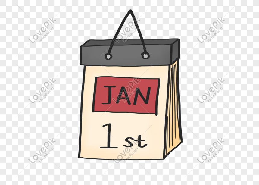 Calendario Dibujo Png.Calendario Minimalista De Dibujos Animados Imagen