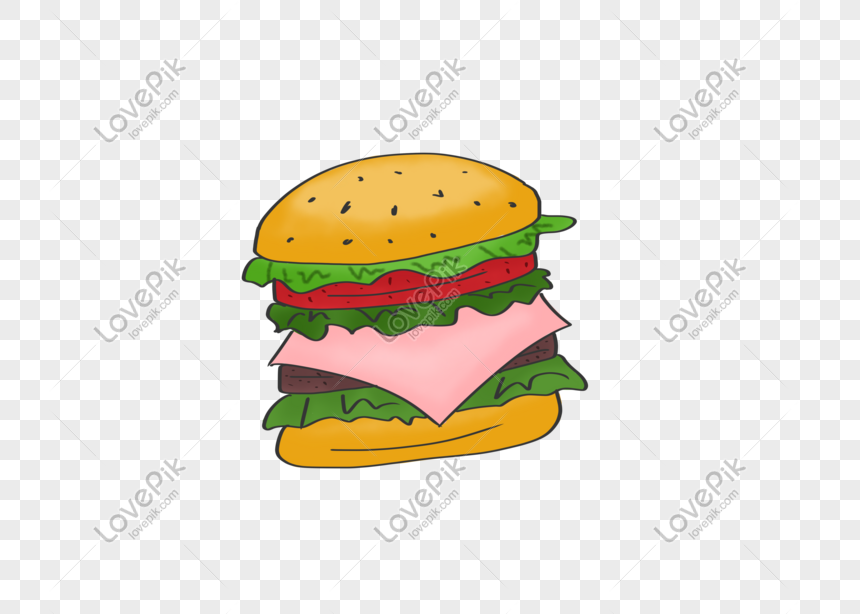 Photo De Hamburger Gourmet De Dessin Anime Numero De L Image401077891 Format D Image Psd Fr Lovepik Com
