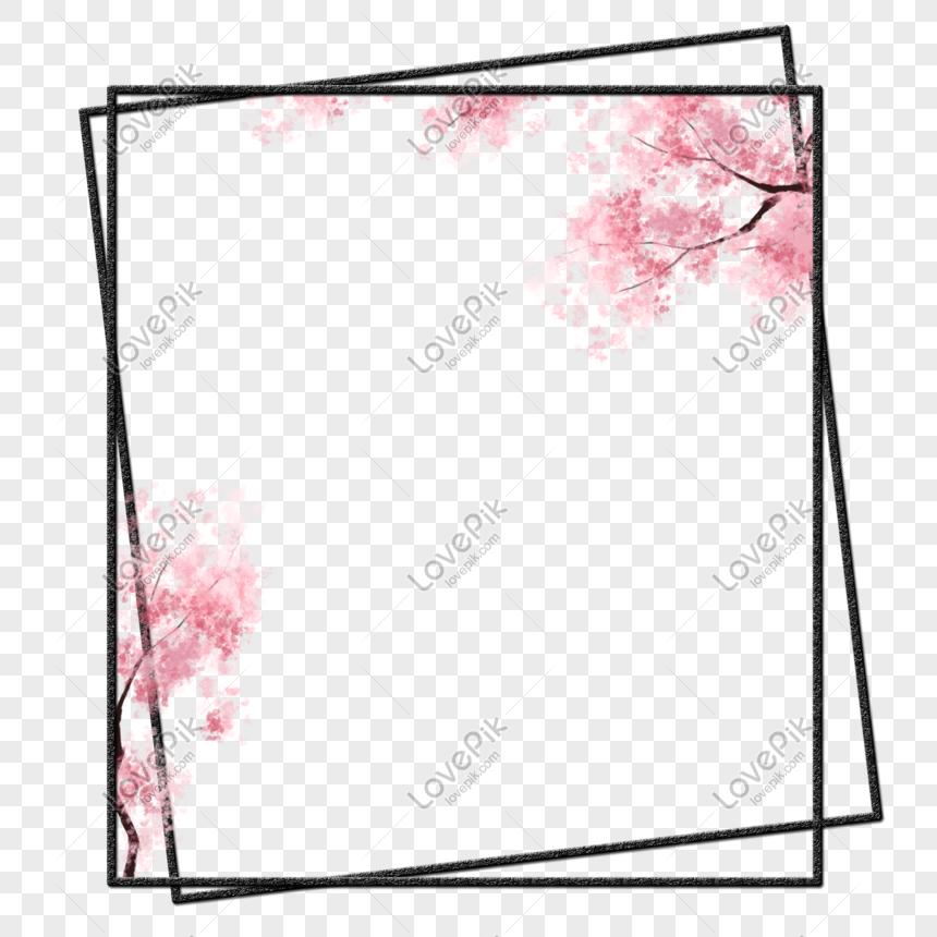 花卉邊框 png