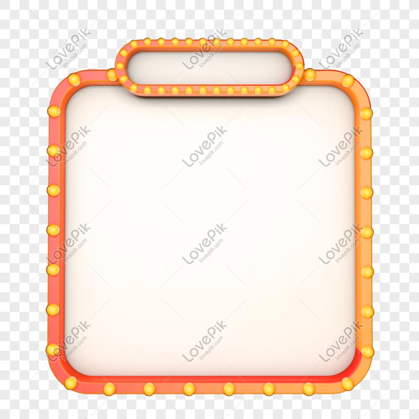 bordo di e commerce neon giallo png