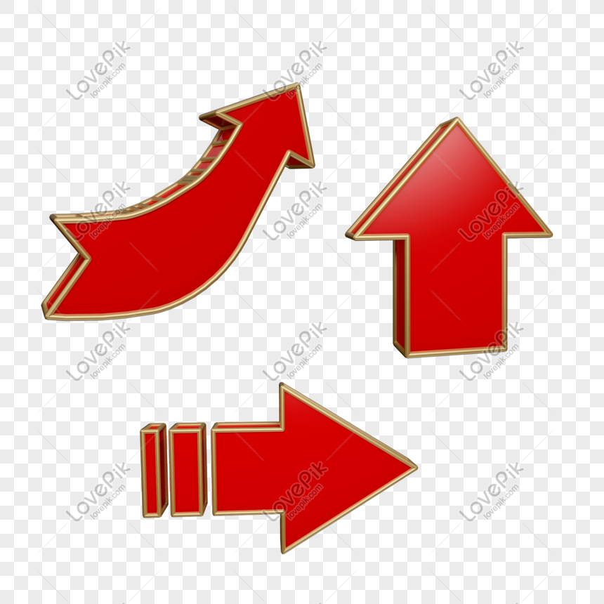 red arrow combination png