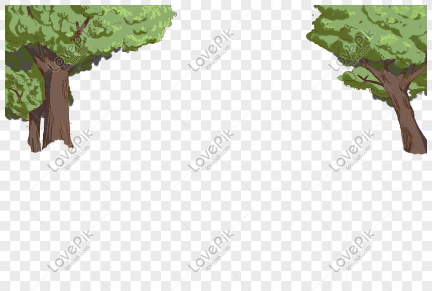 green trees png