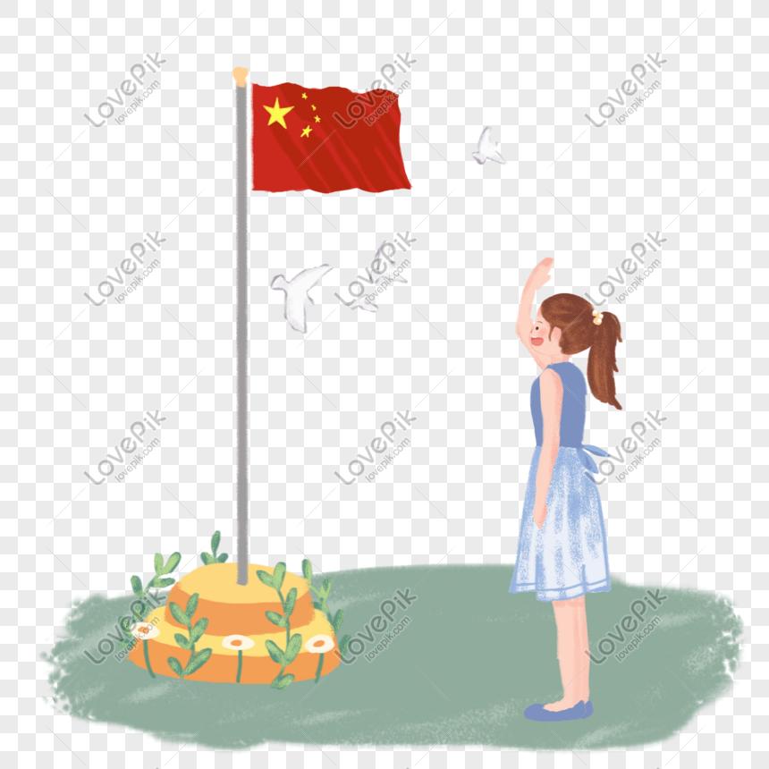 Orang Muda Menaikkan Bahan Bendera Png Gambar Unduh Gratis Imej 401093861 Format Psd My Lovepik Com