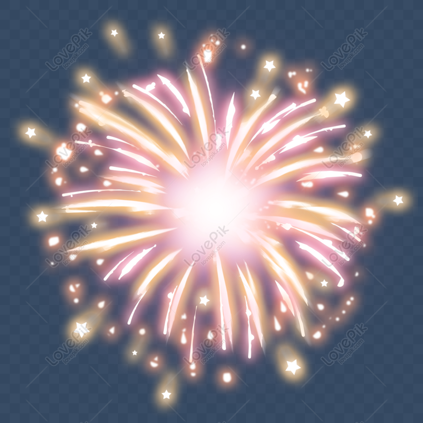 special effects of warm fireworks png