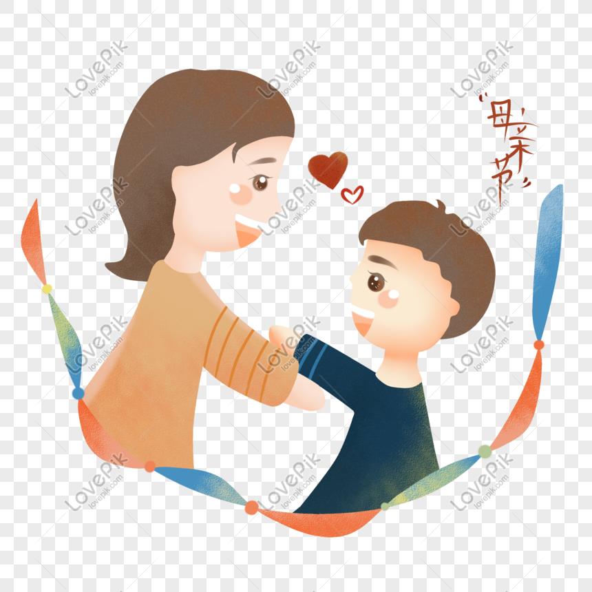 Bahan Untuk Poster Hari Ibu Kartun Hari Ibu Peluk Ibu Bahan Png Png Grafik Gambar Unduh Gratis Lovepik