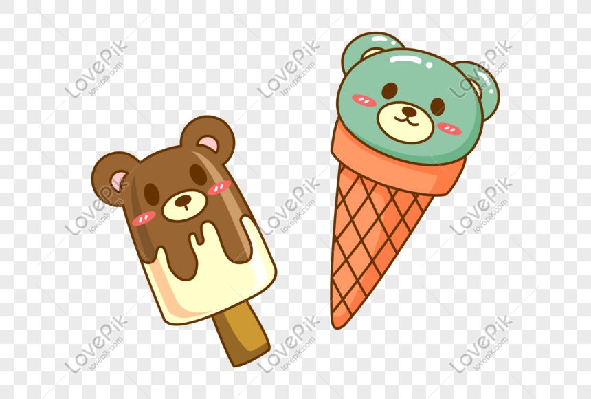 bear ice cream ice cream png