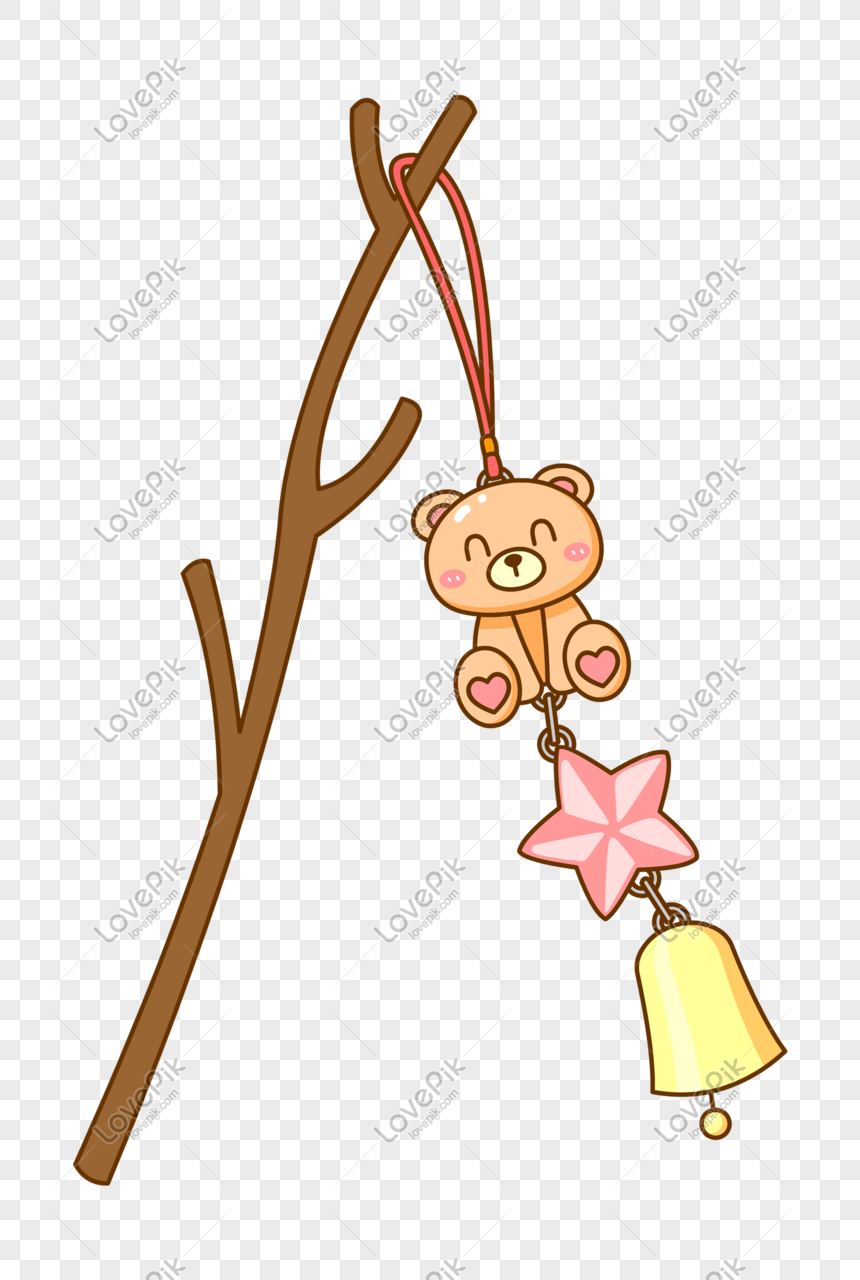 wind bell pendant png