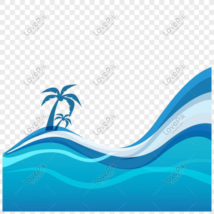 summer blue sea water border png image picture free download 401117745 lovepik com summer blue sea water border png