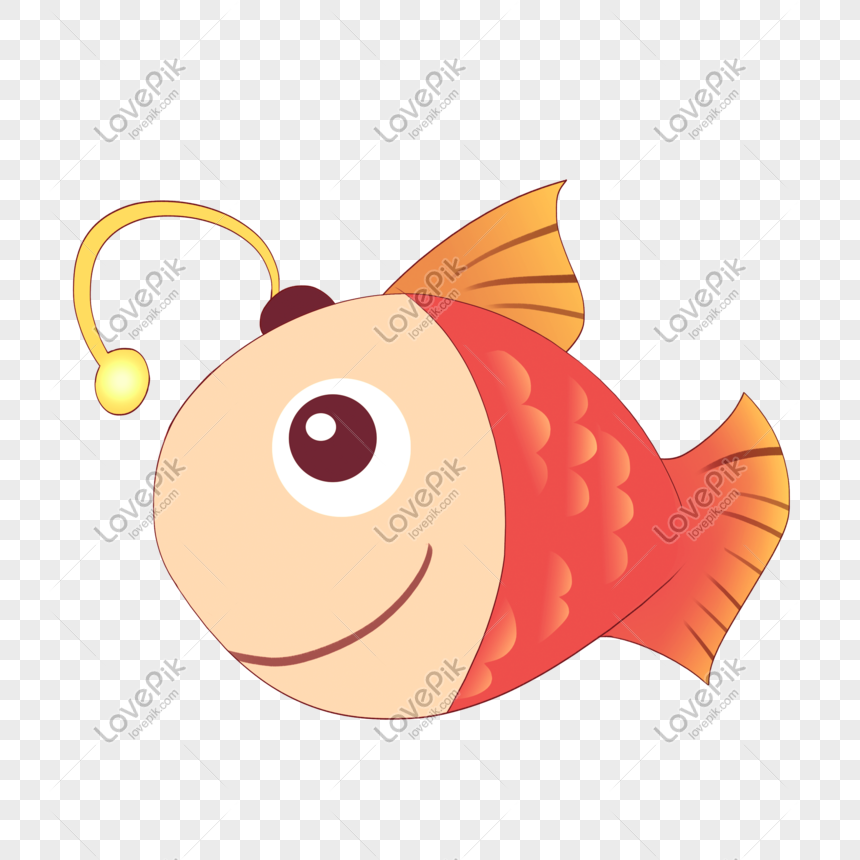 Hand Drawn Cartoon Ocean Day Cute Light Bulb Fish Png Image Picture Free Download 401120378 Lovepik Com