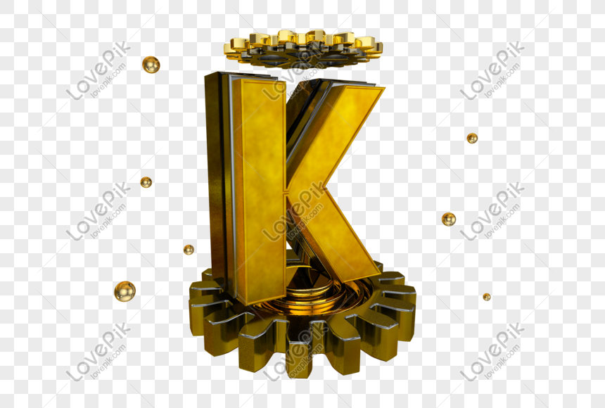 gear english letter k png