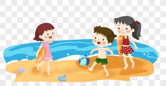 Lovepik صورة الخلفية الرسوم الكاريكاتورية لعب الحد الأدنى على شاطئ البحر صور الرسوم الكاريكاتورية لعب الحد الأدنى على شاطئ البحر 270000