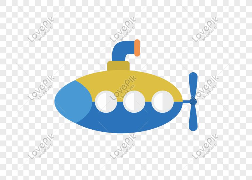 Aiベクトルイラスト飛行機漫画かわいい潜水艦イメージグラフィックス Id