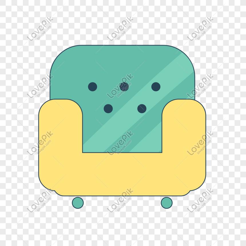 sofá único png