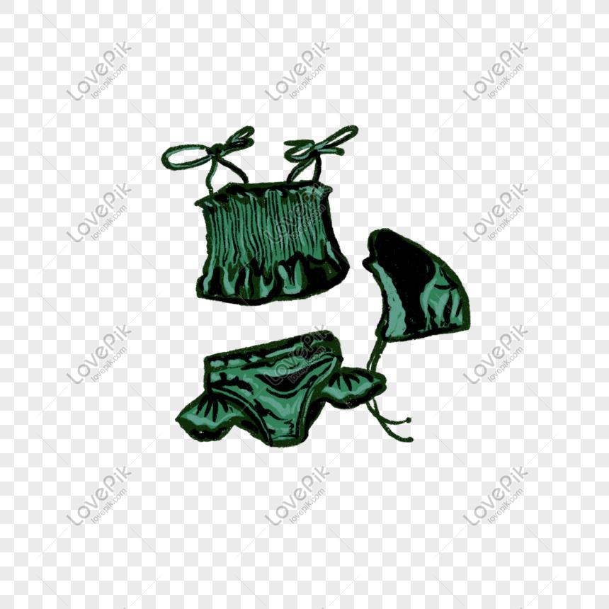 986580e3cec ilustración de traje de baño traje de dibujos animados Imagen ...