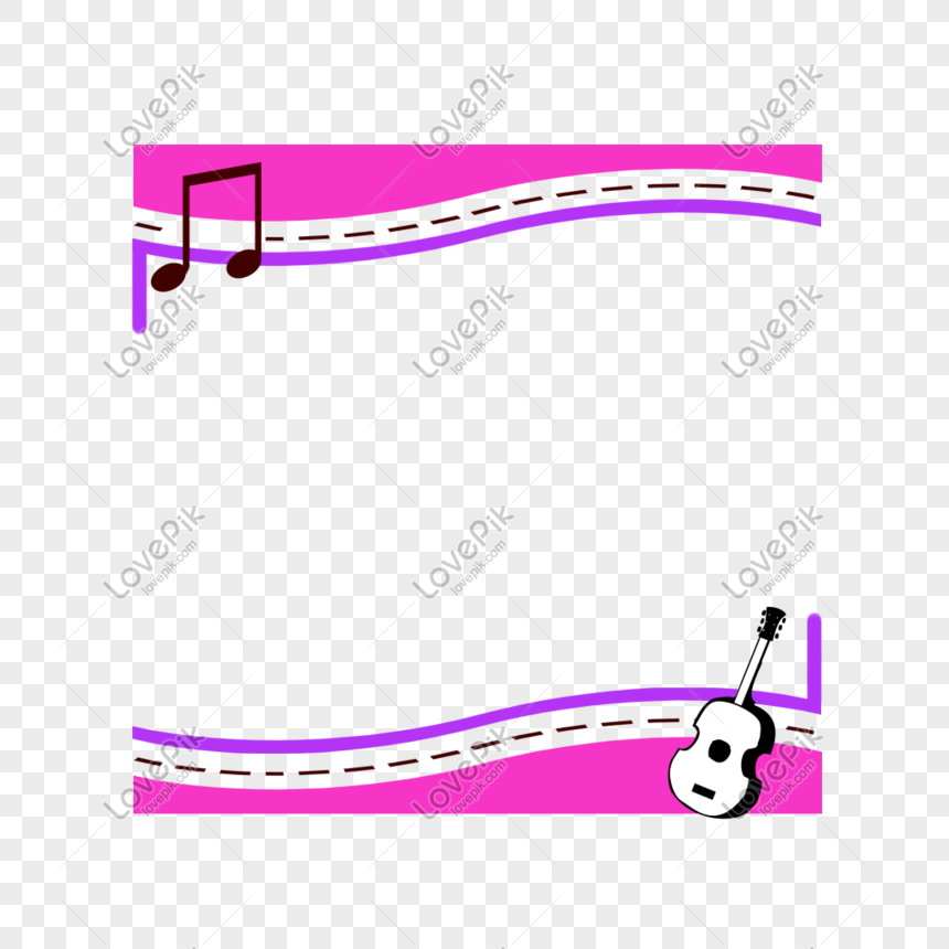 Music border violin accordion harp drum png image_picture