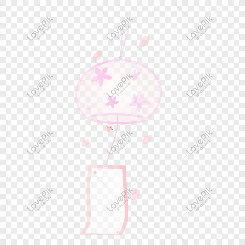 japanese cool wind chimes png