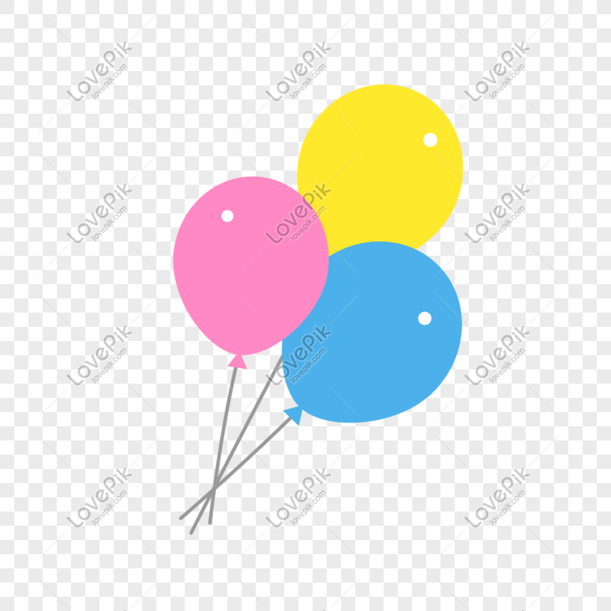 vector colorful balloons png