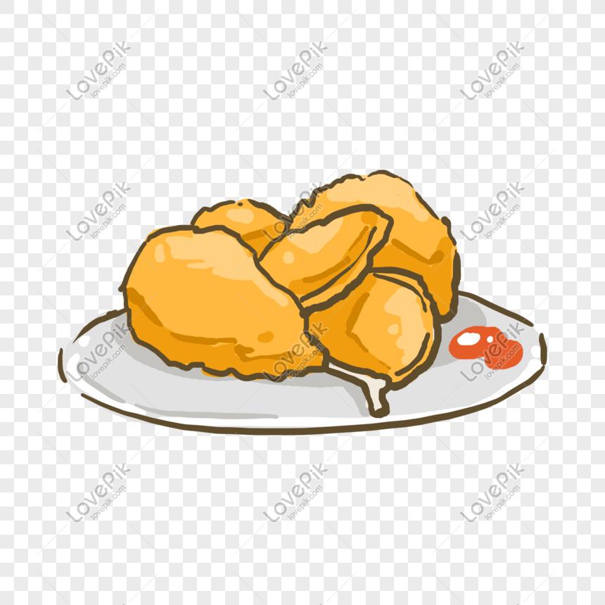 Ayam Goreng Sayap Ayam Kaki Ayam Makanan Yang Lazat Makanan Gambar