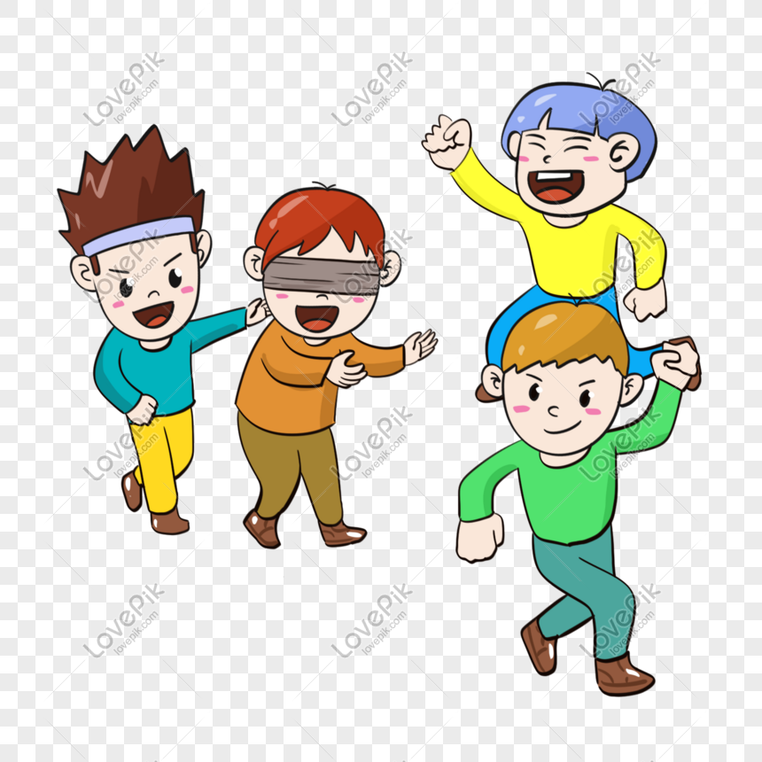 creative hand painted six one 61 childrens day cartoon cute chi png