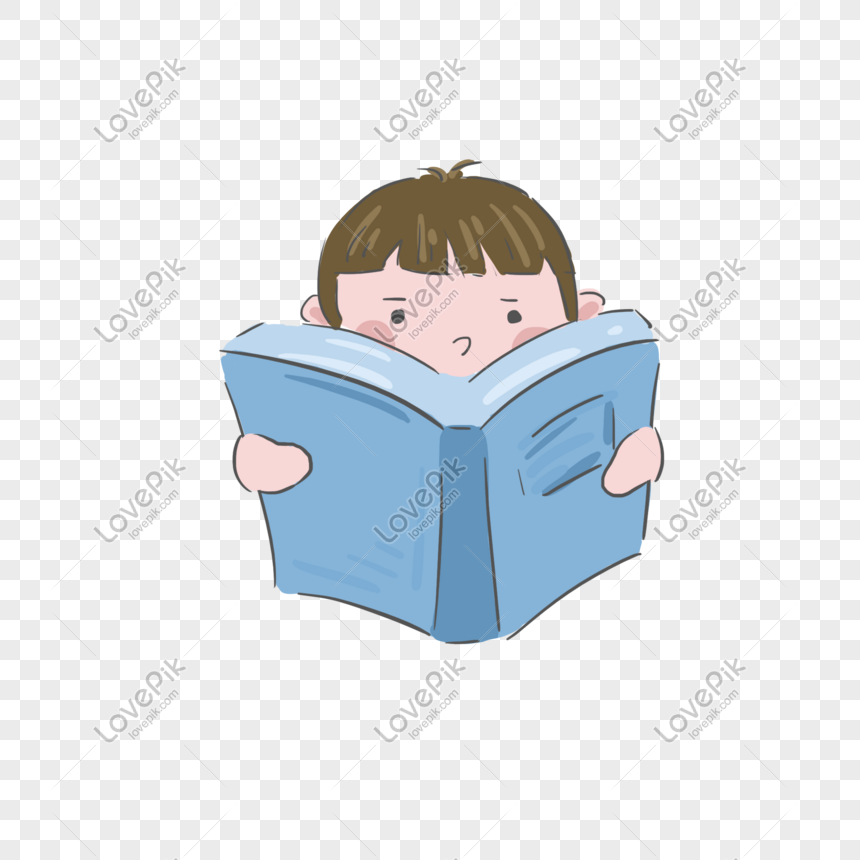 children are reading books png