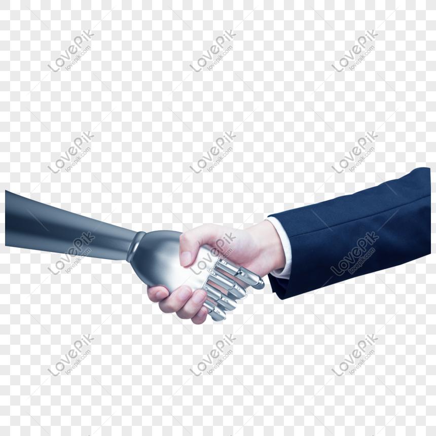 人工智能科技手臂 png