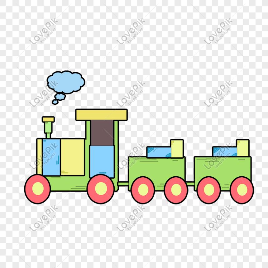 Gambar Kereta Api Kartun Berwarna Keretapi Warna Mainan Kanak Kanak Yang Dilukis Tangan Gambar Unduh Gratis Imej 401166589 Format Psd My Lovepik Com