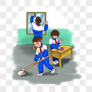 Картинка дежурства в школе