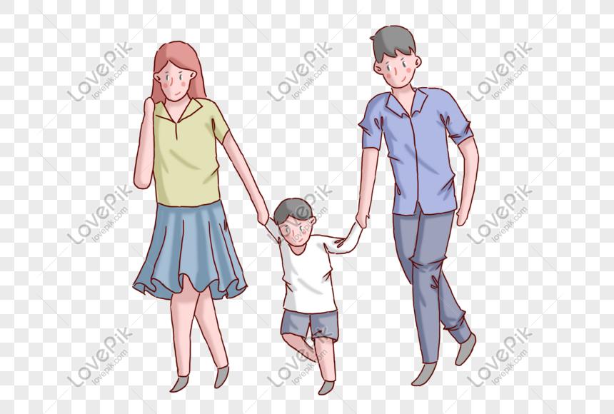 Hari Ibu Hari Ayah Ibu Dan Ayah Bersama Dengan Anak Anak Png Grafik Gambar Unduh Gratis Lovepik