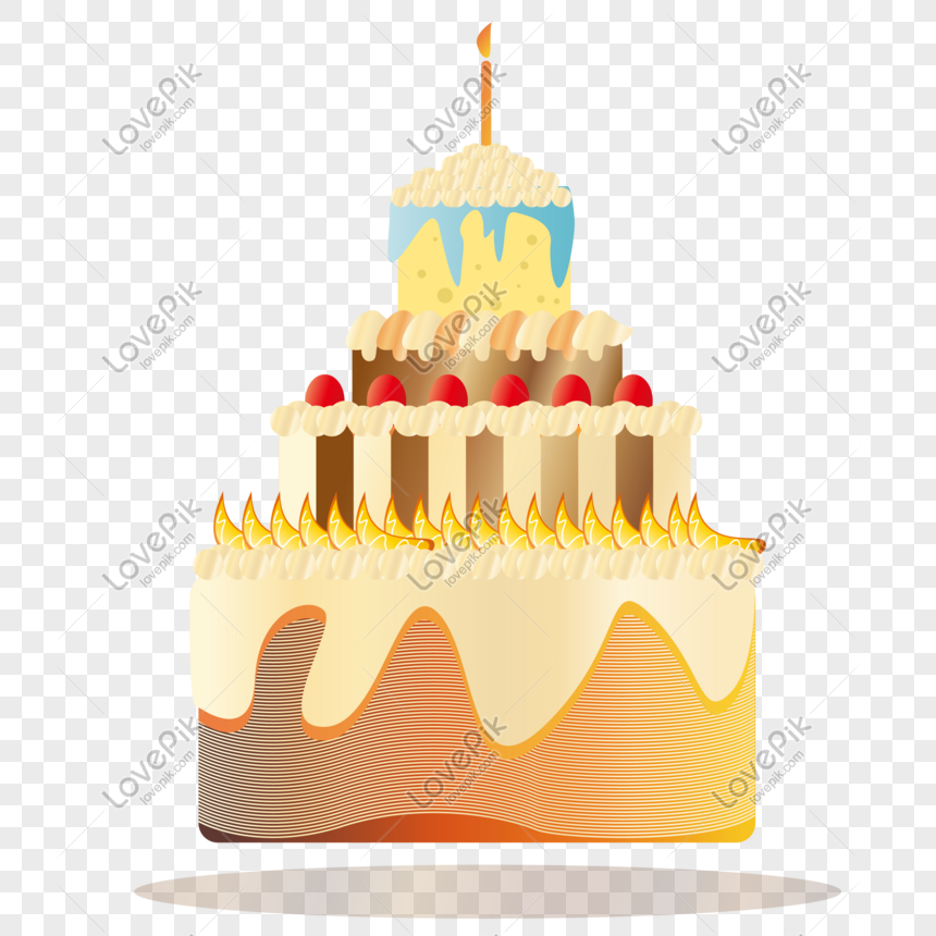 Admirable Flat Luxury Birthday Cake Image Picture Free Download Funny Birthday Cards Online Inifodamsfinfo