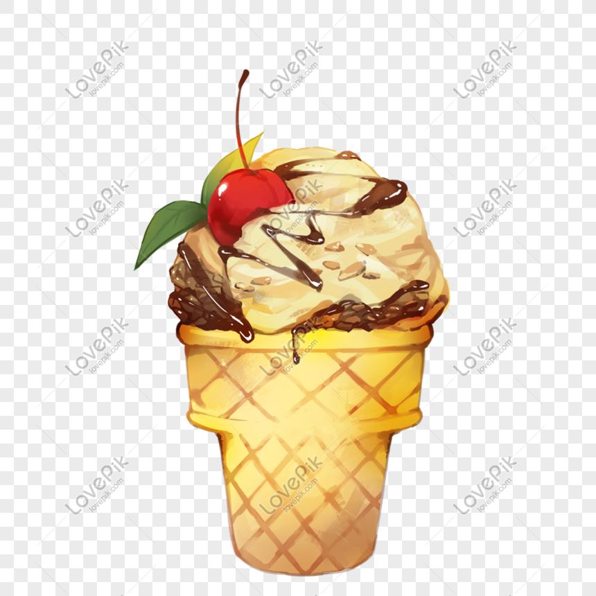 nut ice cream ice cream png