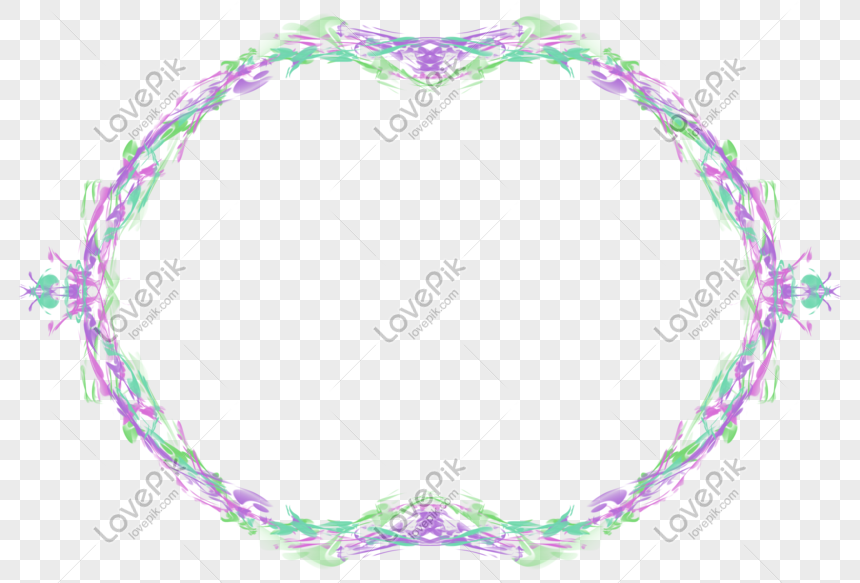 Colored Abstract Border Png Image Picture Free Download