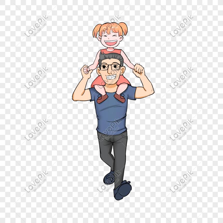 63+ Gambar Animasi Ayah Terbaik