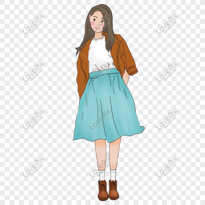 Gambar Kartun Wanita Rambut Panjang Ilustrasi Gadis Rambut Panjang Gambar Unduh Gratis Imej 401195243 Format Psd My Lovepik Com