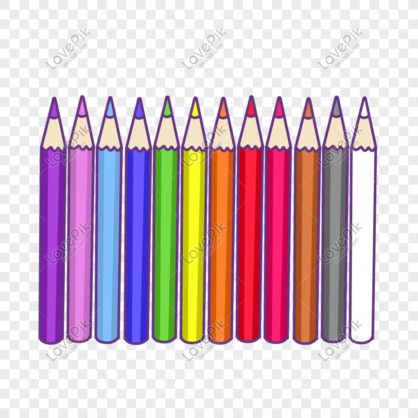 colored pencils png