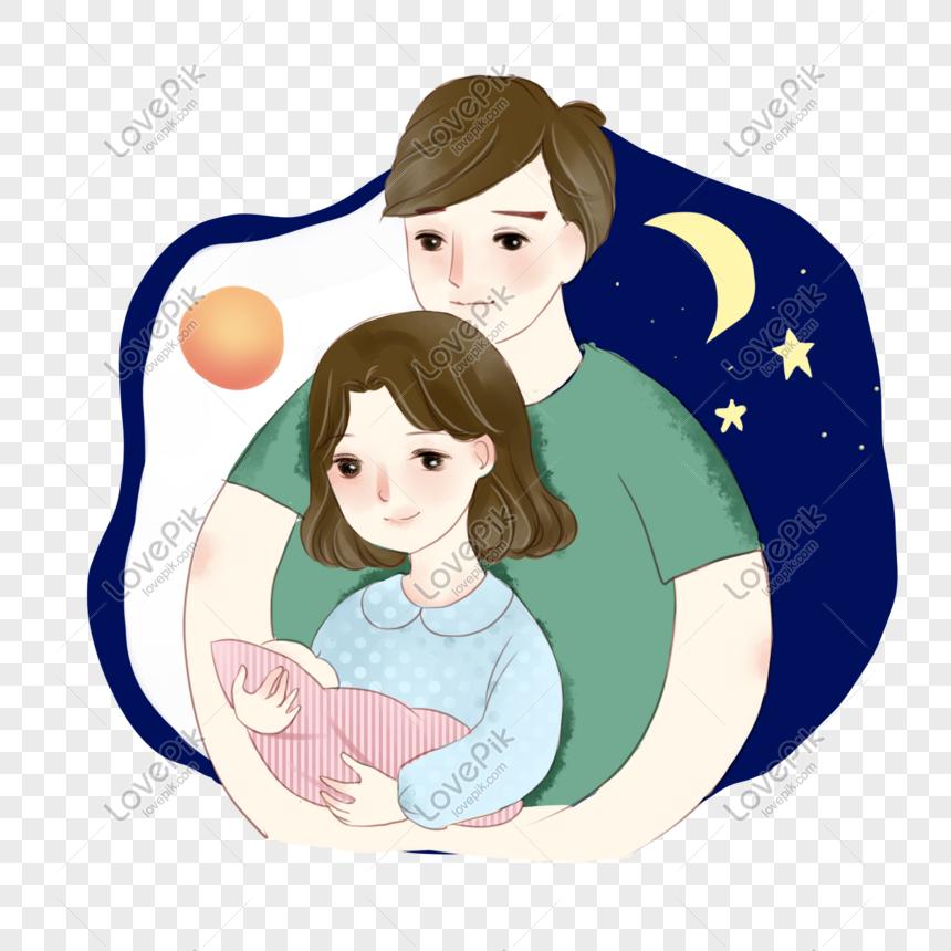 Mirzan Blog S 20 Ide Gambar Ibu Bapak Dan Bayi Kartun