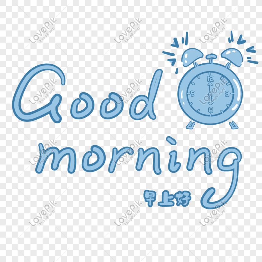 Lovepik صورة Ai 401203101 Id الرسومات بحث صور صباح الخير صباح الخير الخط الديكور الانجليزي