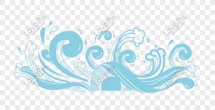 summer spray background pattern png
