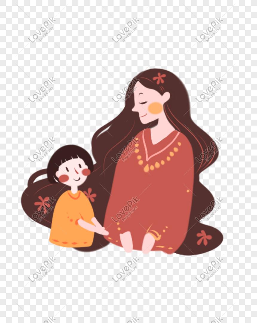 510 Gambar Kartun Lucu Anak Dan Ibu Terbaru
