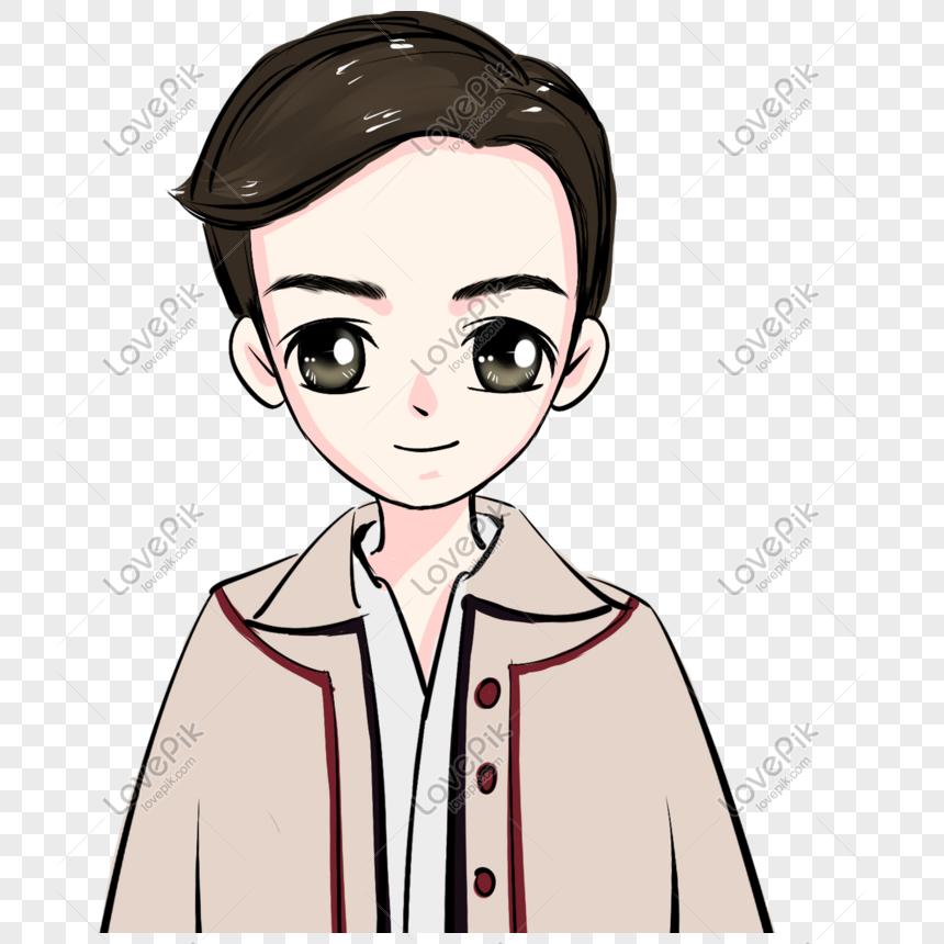 q version cute boy png