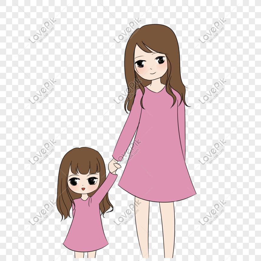 Ibu Dan Anak Perempuan Gambar Unduh Gratis Imej 401226864 Format Psd My Lovepik Com