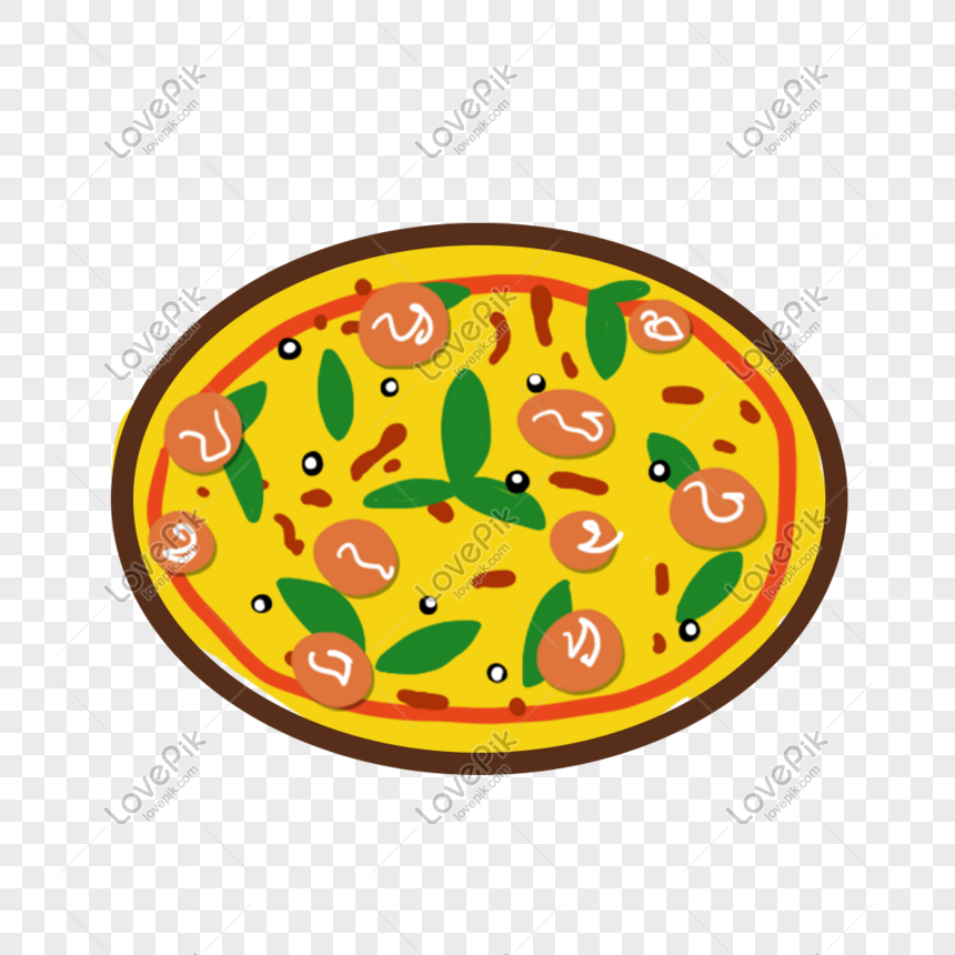 hand painted food snacks png