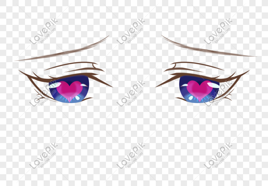 Anime Love Eyes Png Image Picture Free Download 401229582 Lovepik Com
