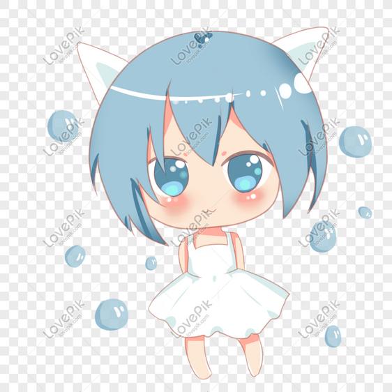 Gambar Kucing Imut Anime godean.web.id