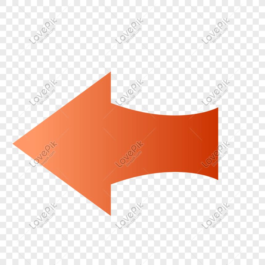 red gradient arrow png