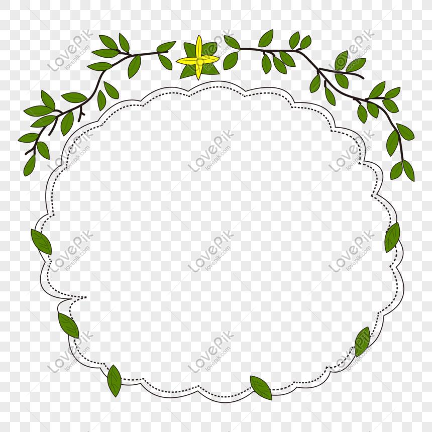 bingkai perbatasan tanaman daun hijau png grafik gambar unduh gratis lovepik bingkai perbatasan tanaman daun hijau