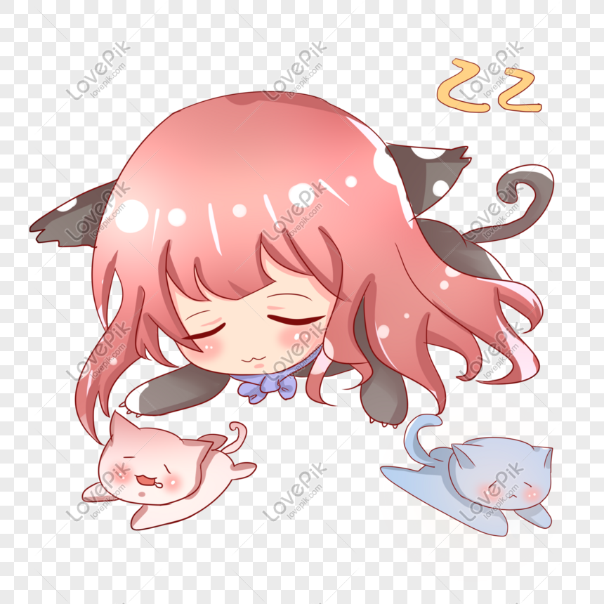 Q Version Of The Cute Cat Girl Characters Anime Png Image Picture Free Download 401245098 Lovepik Com